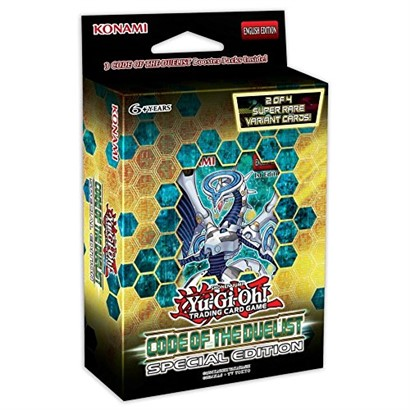 Yu-Gi-Oh! TCG Code of the Duelist Booster Deck