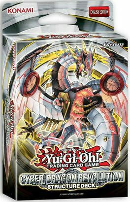 Cyber Dragon Revolution Structure Deck - 42 cards