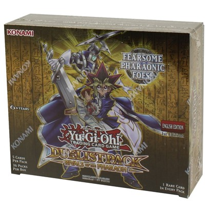 Yugioh Rivals Of Pharaoh Duelist Packs Booster Box