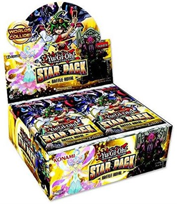 Yu-Gi-Oh Star Pack Battle Royal Booster Display Box