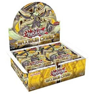 Yugioh Maximum Crisis 1st Edition English Booster Box