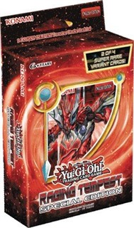 Yugioh Raging Tempest SE Special Edition MINI Booster Box