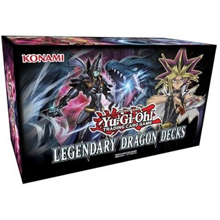Yu-Gi-Oh! Legendary Dragon Decks 153 cards