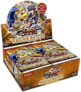 YuGiOh 5D's Raging Battle ENGLISH Booster Box (24 Packs)